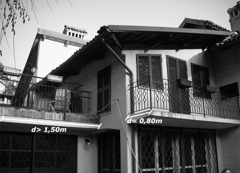 Distanze tra edifici: l\'influenza di balconi, terrazze e altri ...
