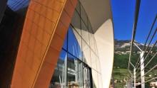 La nuova sede della storica distilleria Psenner di Termeno, Bolzano