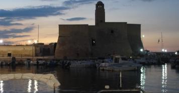 La Torre Villanova, recentemente trasferita al Comune di Ostuni (Br)