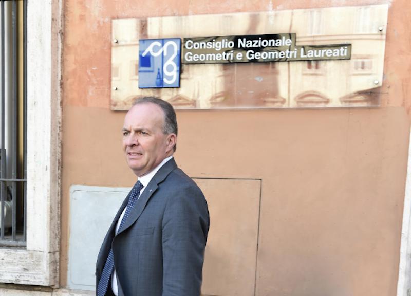 Maurizio Savoncelli, presidente del Consiglio nazionale geometri