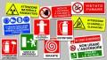 La segnaletica di sicurezza in cantiere