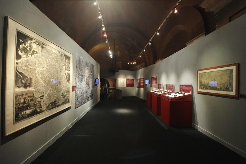 Un'immagine della mostra romana