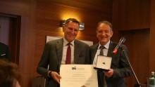 Il Premio Paolo Scolari dell'Uni al vice presidente dei geometri italiani
