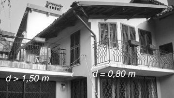 Le distanze tra edifici e parti accessorie: balconi, terrazze, verande e pensiline