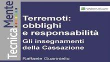 Terremoti: arriva l'eBook firmato da Raffaele Guariniello su obblighi e responsabilità