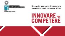 Innovare per competere: il bilancio di mandato 2015-16 del Consiglio nazionale