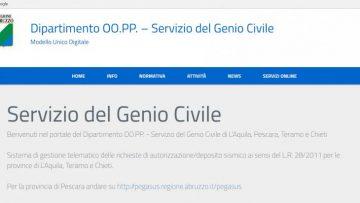 Ricostruzione in Abruzzo, attivo il portale MUDE-RA per le pratiche sismiche