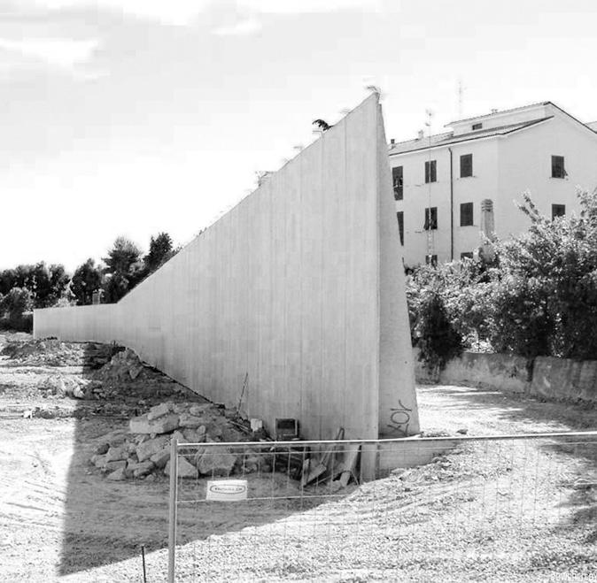 Muro di contenimento in cemento armato