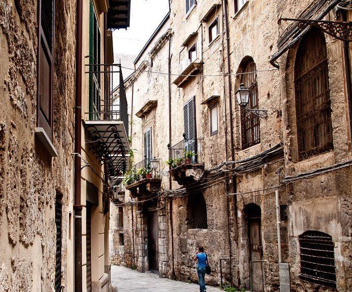 Street in Palermo
